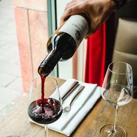 Röd vin när man bantar