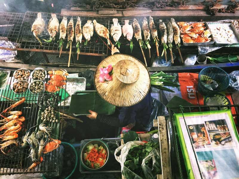 Thai matlagning